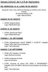 """Del 1 al 5 de Septiembre de 2017 Exposición """"Ayer y Hoy"""" DEL MIERCOLES 16 AL LUNES 28 DE AGOSTO"""